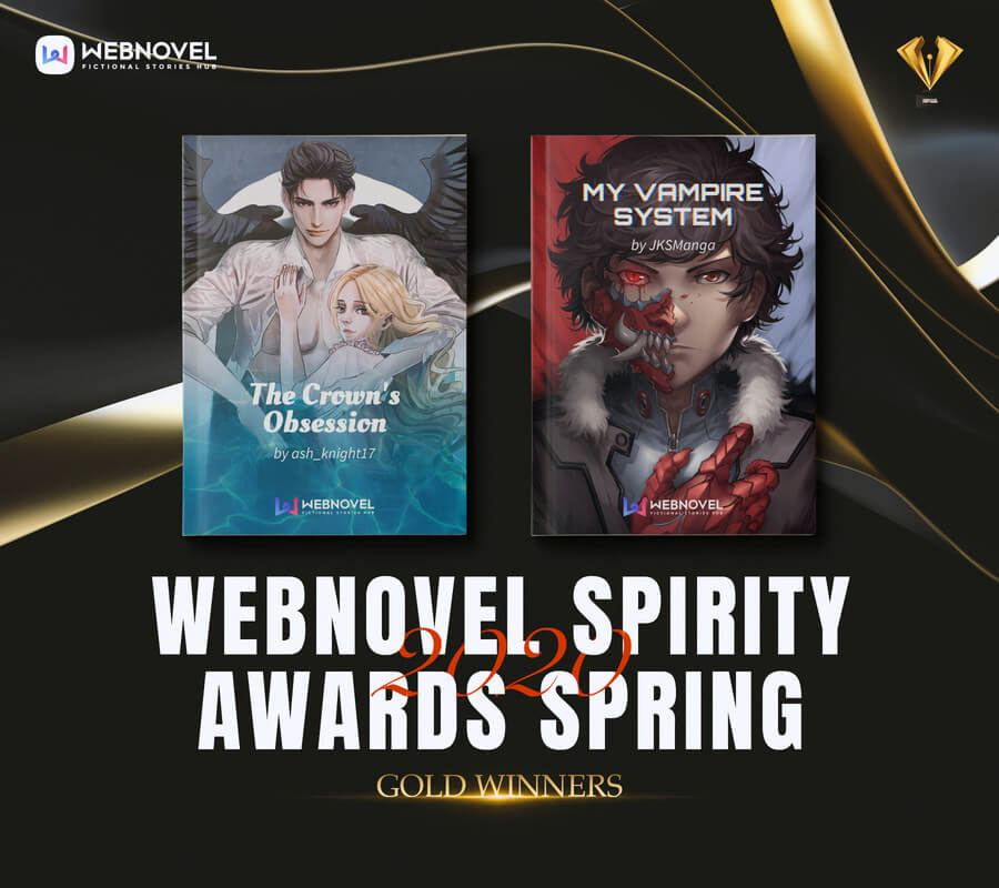 Организаторы Webnovel Spirity Awards Spring 2020о бъявили победителей конкурса